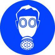 Ademhalingsmasker sticker