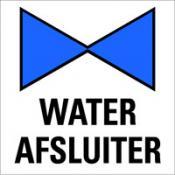 Water afsluiter