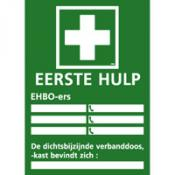 EHBO instructiebord