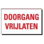 TBD 02 DOORGANG VRIJLATEN