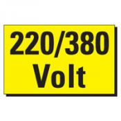 Voorbeeld 22 220-380 Volt