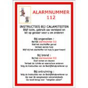 Calamiteit instructiebord NL