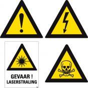 Gevaar stickers