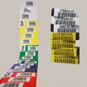 Barcodelabels en locatie-etiketten