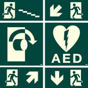 Lichtgevende stickers